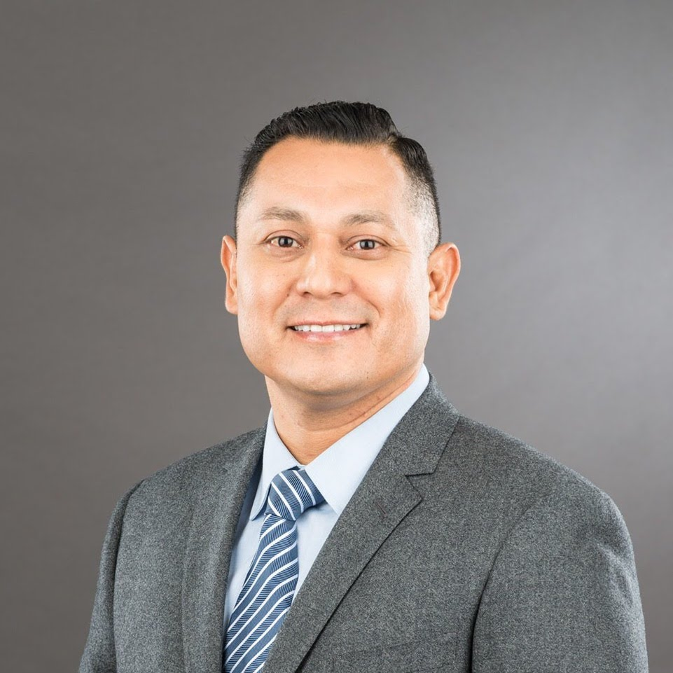 A headshot of Gilbert Salinas, MPA