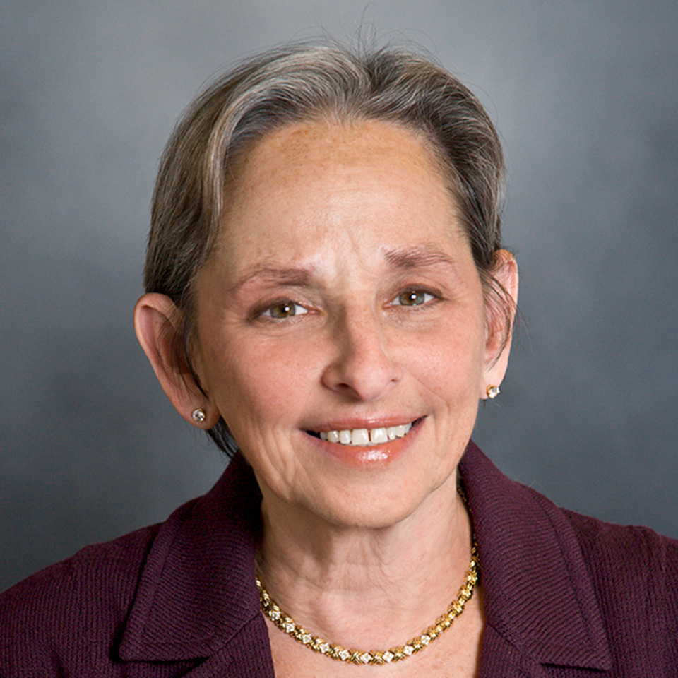 A headshot of Sharon Levine, MD