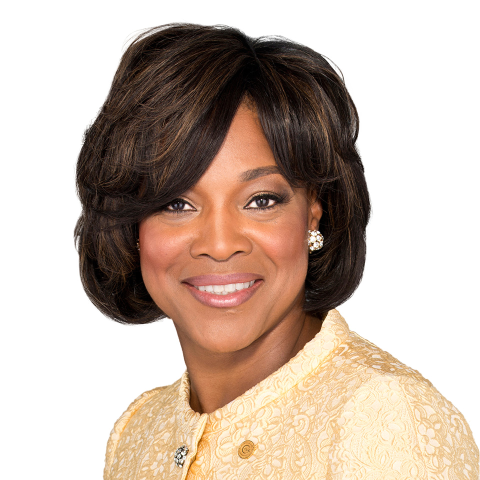 A headshot of Valerie Montgomery Rice, MD