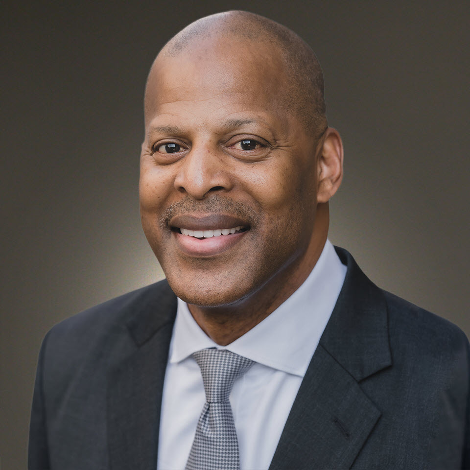 A headshot of Walter Harris, MBA