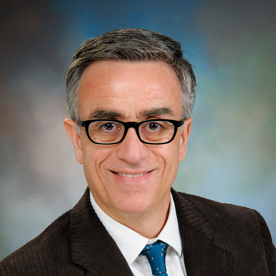 A headshot of José M. Barral, MD, PhD
