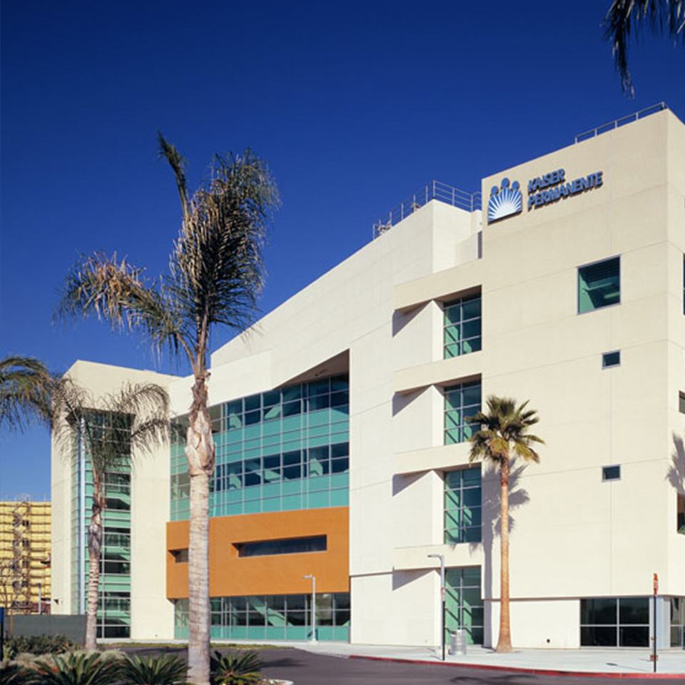 External View of Downey Medical Center.