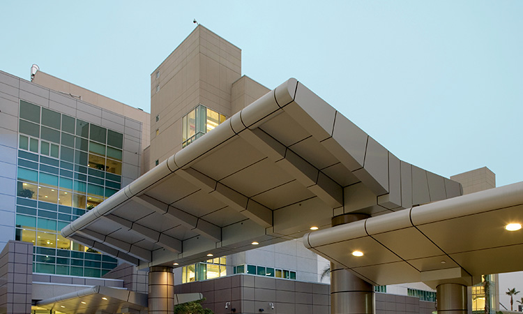 External View of West Los Angeles Medical Center