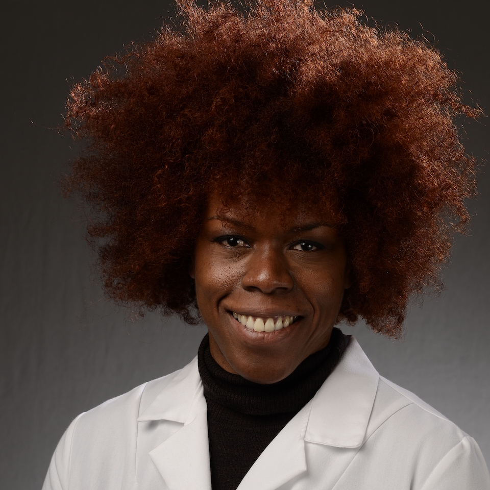 A headshot of LaTanya R. Hines, MD, FACOG