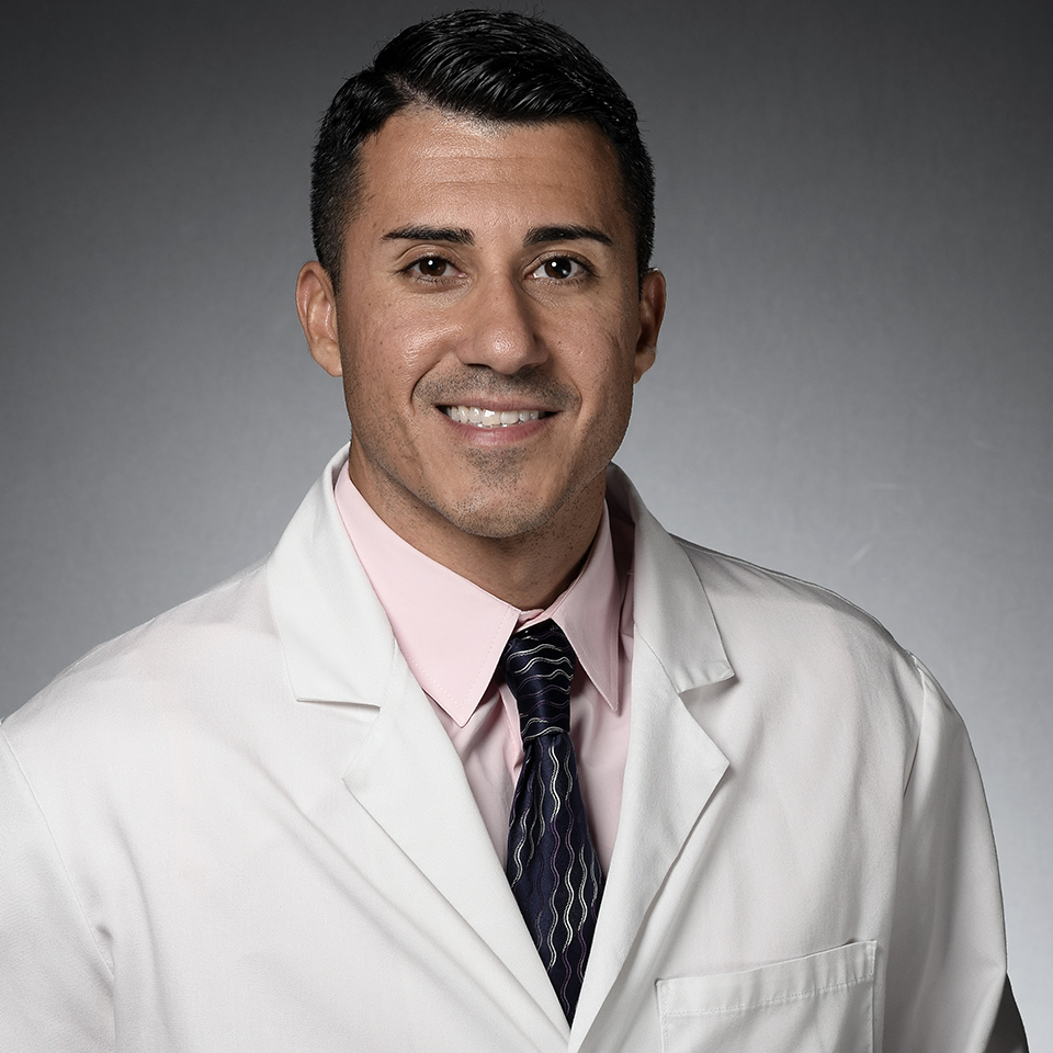 A headshot of Ali Ghobadi, MD, CPPS