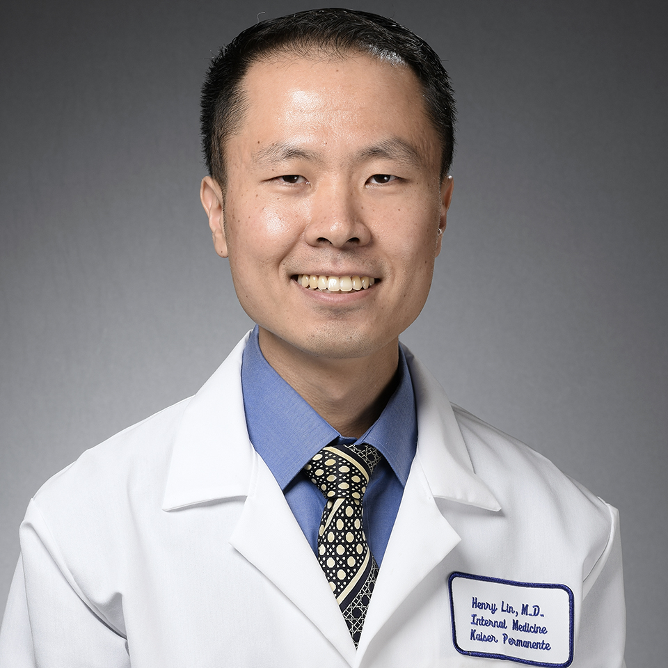 A headshot of Henry K. Lin, MD