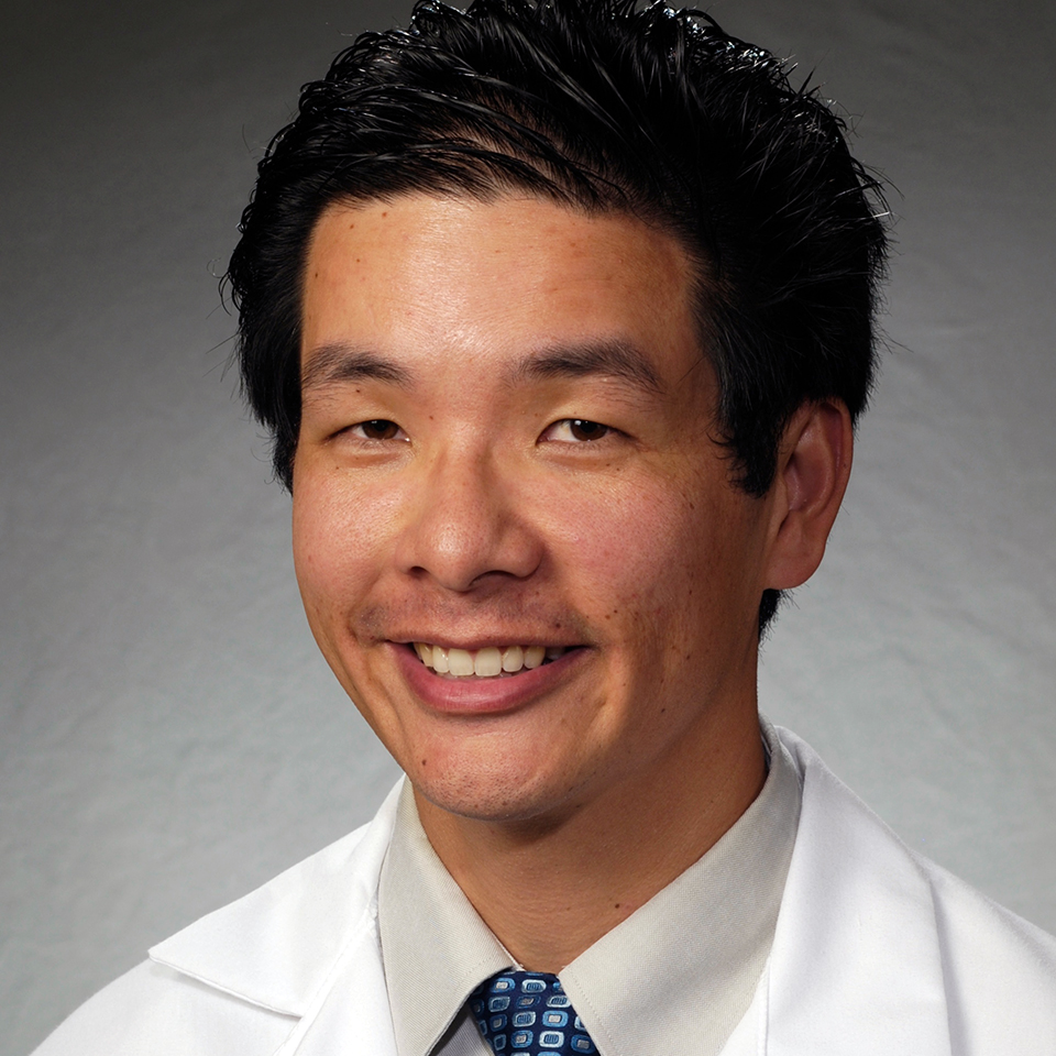 A headshot of Derek D. Mafong, MD