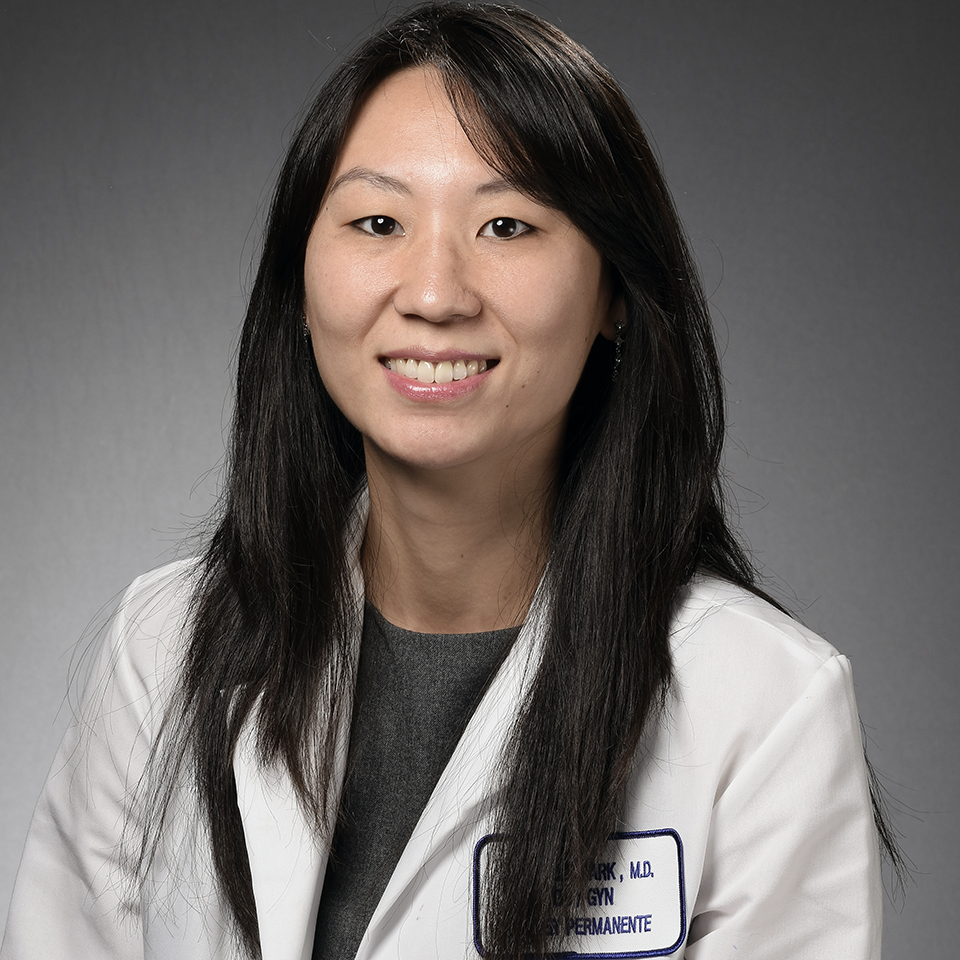 A headshot of Michelle G. Park, MD, FACOG