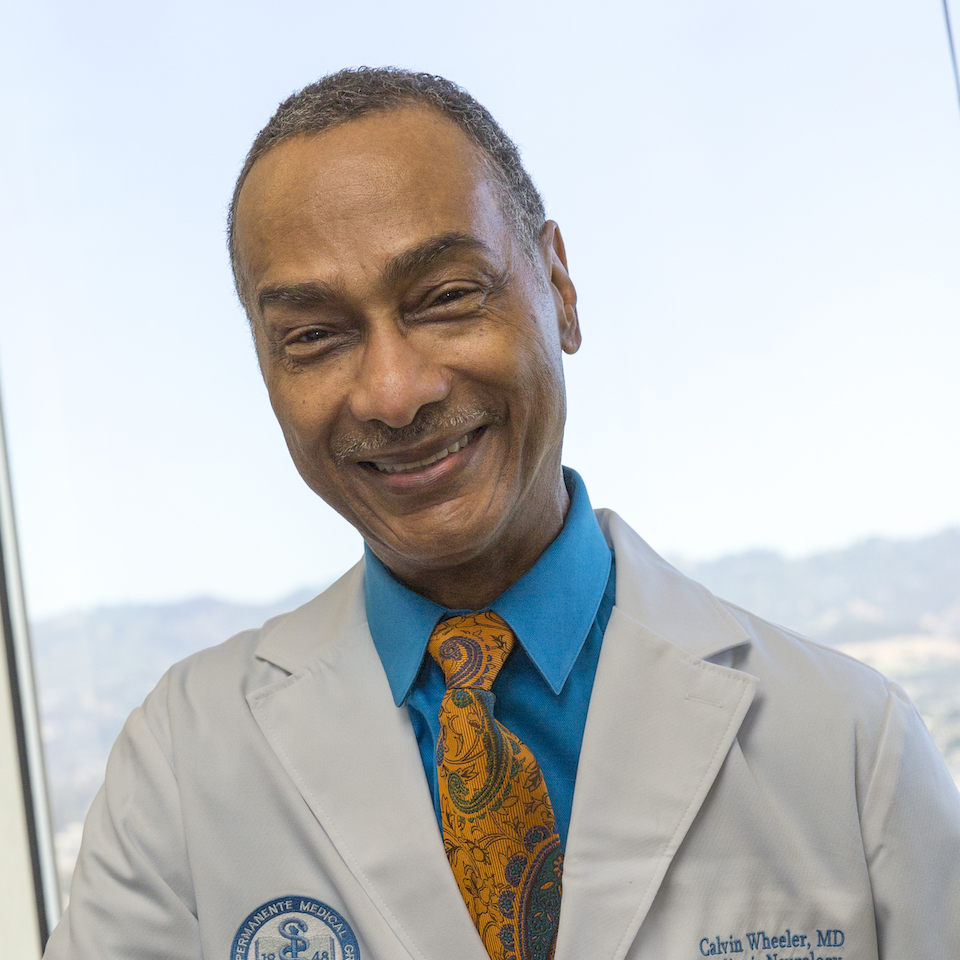 A headshot of Calvin Wheeler, MD, BS Pharm